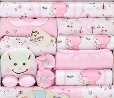 18pcs/Set pink Trees Newborn Baby Girl Clothes Winter Warm Outfits & Sets