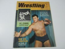 Vintage 1961 Spring Wrestling Revue Magazine Don Leo Jonathan Pat O'Connor