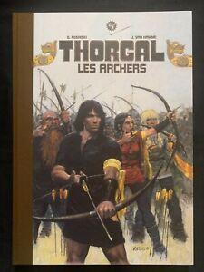 """TT """"Thorgal,les archers"""" de ROSINSKI EO N°13/16EA dédicace: T.GIROD Petit tirage"""