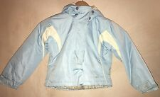 Girls Light Blue Raincoat Age 3/4 Trespass<NH4948