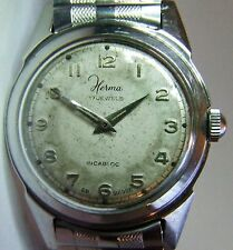 Gents Vintage (1950's) Herma Swiss Watch