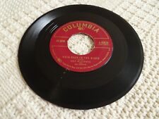 GUY MITCHELL  KNEE DEEP IN THE BLUES/TAKE ME BACK BABY COLUMBIA 40820