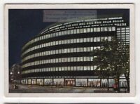 Department Store in Chemnitz Germany 1930s Trade Ad Card