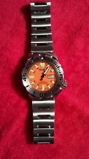 Seiko Classic Orange Monster Divers Watch 1st Gen 7S26-0351 Sub 200m Steel Auto