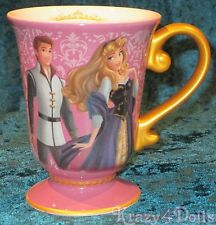 Disney Designer Fairytale Doll Collection Princess Aurora and Phillip Mug NEW!t