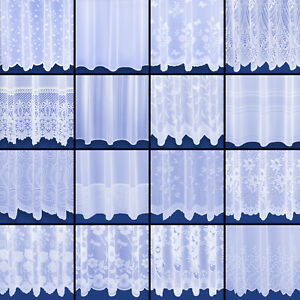 Choice of 18 Quality Net Curtains - Free Postage - Sold By The Metre