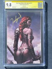 Red Sonja Birth of She Devil #1 Jeehyung Lee Virgin Bloody Variant CGC SS