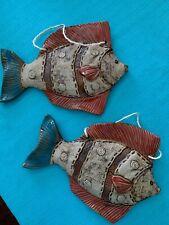 New listing Ceramic Fish wall decor Indoor/Outdoor