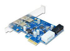 USB 3.0 PCIe Expansion Card External 2 Ports USB3.0 + 2 Internal 19Pin Header