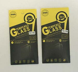 2 Packs of Unipha Tempered Glass Screen Protector for iPhone 7/8 Plus - NEW B3