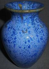 Fulper Art Pottery BLUE CRYSTALLINE VASE Mottled Colors NICE!