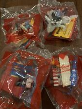 2020 McDonalds Mickey & Minnie's RUNAWAY RAILWAY Set of 4 ( 1, 2,3,4 )NEW