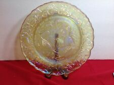 Imperial Gold  Carnival Sixth  day of 12 Days of CHRISTMAS Plate, MIB