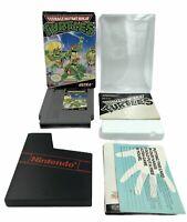 TMNT Teenage Mutant Ninja Turtles NES Nintendo CIB Authentic Tested Works