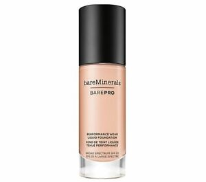 Bare Minerals Bare Pro Performance Wear Liquid Foundation New without Box
