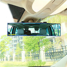 Car 300mm Wide Curve Convex Interior Reflector Clip Panoramic Rear View Mirror