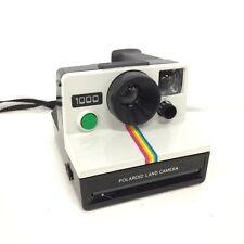 70's Polaroid Land Camera 1000 Instant Film Camera & Bag #671