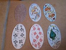 Sehr originelle und toll gestaltete ovale Spielkarten aus Holland 1993