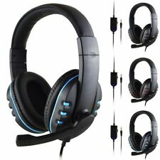 Gaming Headset For PS4, Xbox One, Nintendo Switch & PC 3.5mm Headphones With Mic