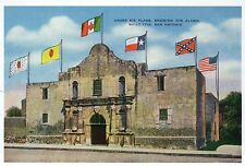 The Alamo, San Antonio Texas, Under Six Different Flags, TX --- Modern Postcard