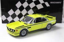 1:18 Minichamps BMW 3.0 CSL (E9) yellow 1973 NEW bei PREMIUM-MODELCARS