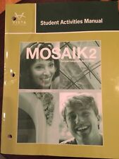 Brand new Mosaik 2 Student Activities Manual for German language and culture