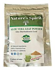 Pur Aloe Vera Powder-100 % Aloés Barbadensis Peau Visage Cooling 100g BUY2 +