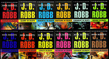 JD Robb In Death Series Collection Set Books 1-12 Paperback Nora Roberts New Lot