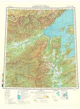 Russian Soviet Military Topographic Maps - SHANTARSKIYE IS. (Rus.) 1Mio, ed.1990