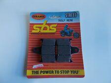 SGR 6567651 COPPIA PASTICCHE POSTERIORI SBS PER SUZUKI GSX-R 600 (2004-2005)