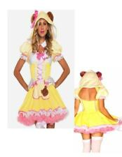 Beary Cute Goldilocks Sexy Storybook Pink Adult Dress Large Leg Ave N30