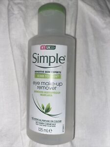 ❤️ Simple Kind To Eyes Eye Make Up Remover 125 ml
