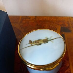 Ayshford   Spitfire Trinket Box Designed by R J MITCHELL