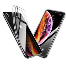 NUOVO! Retro Trasparente Chiaro Morbido Cellulare Custodia Cover Apple TELEFONO 7 8 PLUS XS MAX