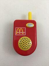 McDonalds Drive Through Playset Talking Walkie Talkie Piece Play Food CDI Works