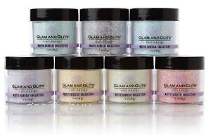 Glam and Glits Nail Design -Matte Acrylic Powder - 1 oz Pick Any !!!!