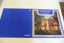 SCHUMANN CELLO PIANO CONCERTO LP BYRON JANIS MAURICE GENDRON PHILIPS FRENCH.