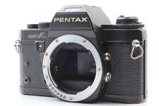 [EXC] Pentax Super A Black SLR 35mm Film Camera Body From Japan #1120-0212