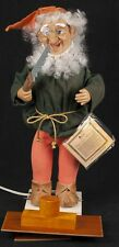 "Telco Motionette Animated Elf Gnome Christmas Toy Maker Electric 21"" SEE VIDEO"