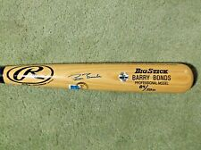 Barry Bonds Signed Autograph Baseball Bat COA/Hologram Cert With Case VERY RARE