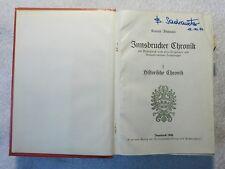K. Fischnaler - Innsbrucker Chronik - 1929 - 1934 - alle 4 Bände in einem (R)