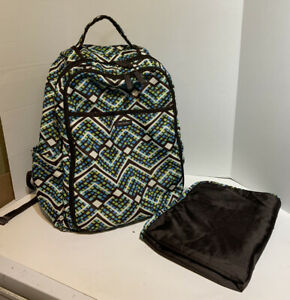Vera Bradley Diaper Bag/ Backpack Great condition, lots of pockets! And Clean!