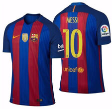 NIKE LIONEL MESSI FC BARCELONA AUTHENTIC VAPOR MATCH HOME JERSEY 2016 17  FIFA. 297fc31c8