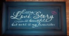 Wall Decor - Love Story