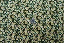 William Morris Leicester Green 100% Cotton Quilting Craft Sewing OOP Fabric BTHY
