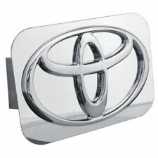 "Toyota Chrome Stainless Steel 1.25"" Trailer Tow Hitch Cover"
