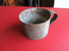 Old Vintage Tin Drinking Cup from Civil War Collection
