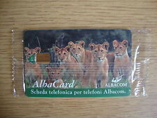 BT Albacom ALB 002 3000 L Complimentary Pride of 6 Lions MINT UNUSED in wrapper