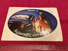 Aufkleber Auto Radio von Philips Oldtimer