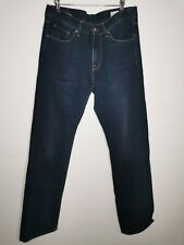 Tommy Hilfiger Madison men's jeans dark blue zip fly w33 L34